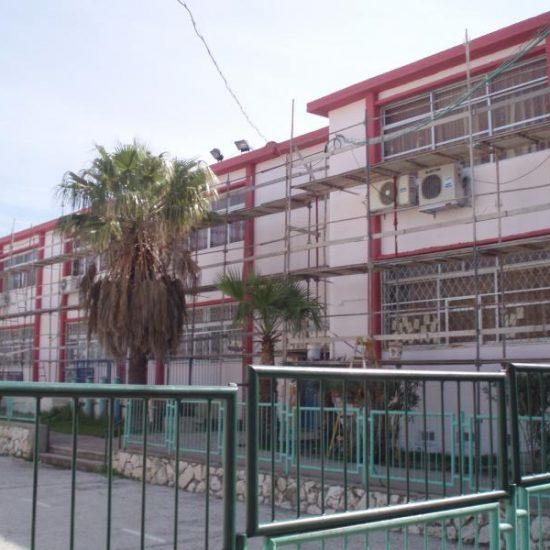 שיקום חזיתות בית ספר טבריה